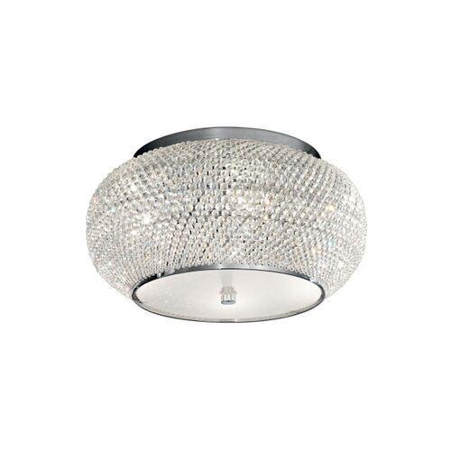 Lampa sufitowa PASHA' PL6 CROMO, kolor Srebrny