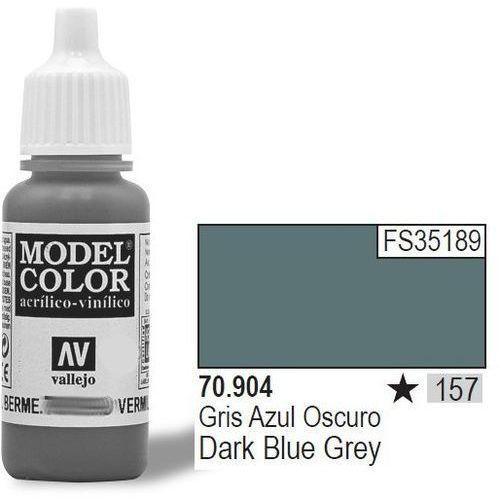 Farba nr157 dark blue grey 17ml - marki Vallejo