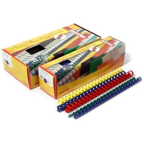 Grzbiety plastikowe do bindowania 5mm, 100szt., NB-835