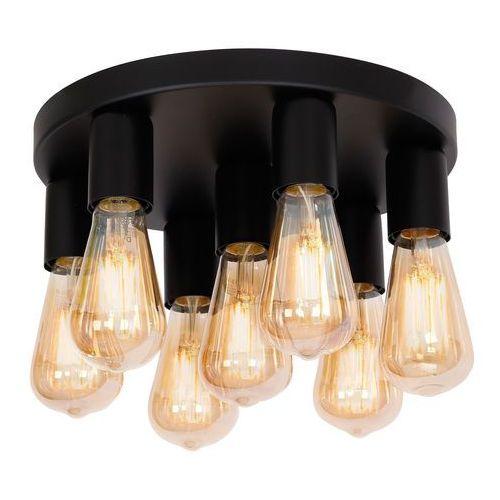 Luminex filo 1314 plafon lampa sufitowa 7x60w e27 czarny (5907565913149)