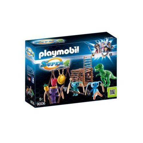 Wojownicy alien z pułapką na t-rexa 9006 - darmowa dostawa od 199 zł!!! marki Playmobil