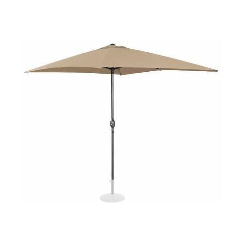Uniprodo parasol ogrodowy stojący - 200 x 300 cm - beżowy uni_umbrella_sq2030ta