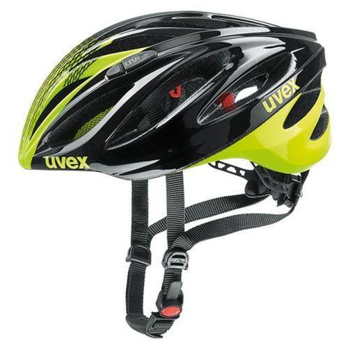 Uvex Kask boss race czarny-żółty-neonowy / rozmiar: m (4043197295541)