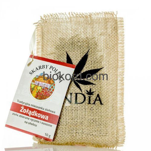 Herbata Ziołowa Żołądkowa, 10 g India Cosmetics
