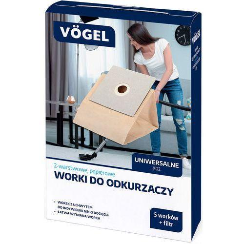 VÖgel Worek do odkurzacza x02 1010 (5 sztuk + filtr) (5902729062787)