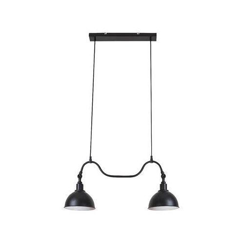 Lampa wisząca Rabalux Marc 2274 2x40W E27 czarna (5998250322742)