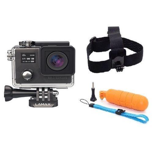 Kamera sportowa LAMAX Action X8.1 Sirius 4K + Uchwyt LAMAX Action X + Uchwyt pływający