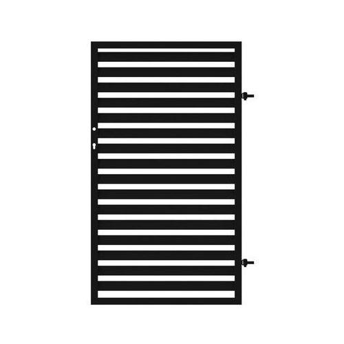 Furtka ogrodzeniowa NEROSYSTEM 90 cm prawa METALKAS (5907666202838)