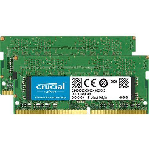 Crucial 32GB [2x16GB 2400MHz DDR4 CL17 SODIMM]