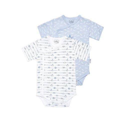 Gelati Kidswear WELCOME 2 PACK Body multicolor z kategorii body niemowlęce