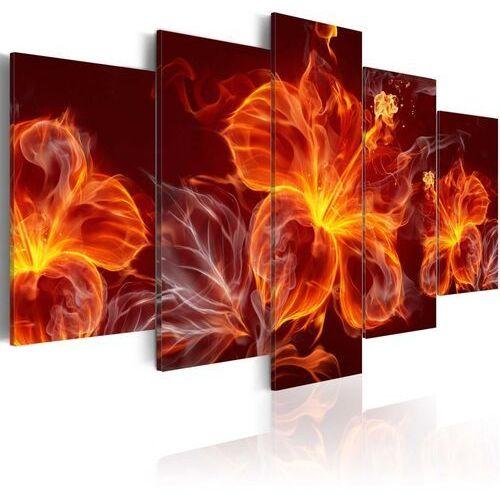 Obraz - Ogniste kwiaty