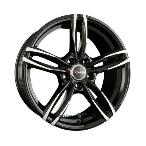 AVUS Racing AF15 Black Polished Einteilig 7.50 x 17 ET 30