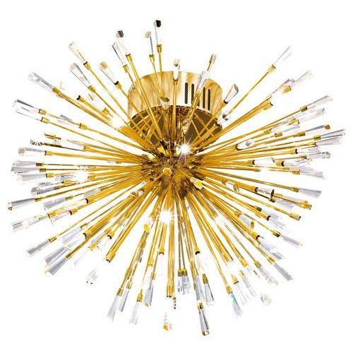 Eglo Plafon vivaldo 1 39253 lampa sufitowa oprawa 19x1.2w g4 led złoty / kryształ