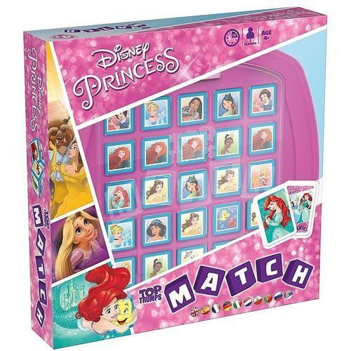 Top Trumps Match Princess Księżniczki (5036905028707)