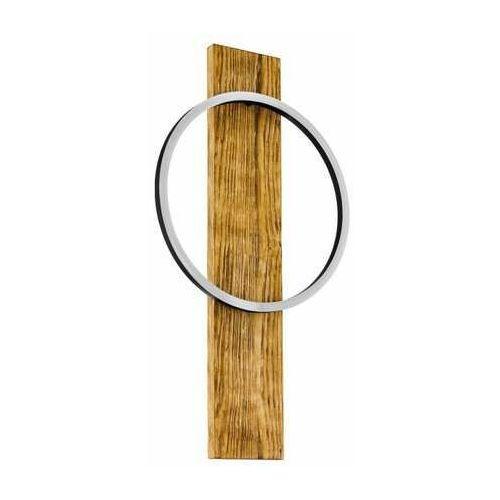 boyal 99413 plafon lampa sufitowa 3x12w led czarny/rustykalny brązowy marki Eglo