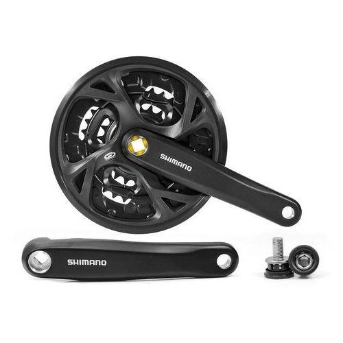 Mechanizm korbowy fc-m371 175mm 44x32x22t czarna z osłoną marki Shimano
