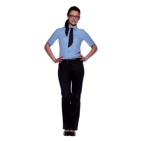 Bluzka damska z krótkim rękawem, rozmiar 52, jasnoniebieska   KARLOWSKY, Juli