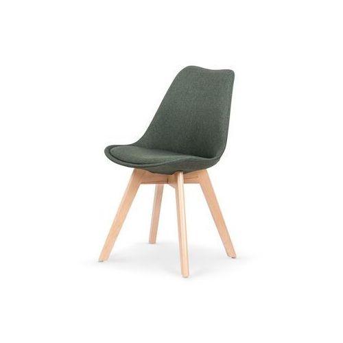 Nowoczesne krzesło harry, ciemny zielony marki Style furniture