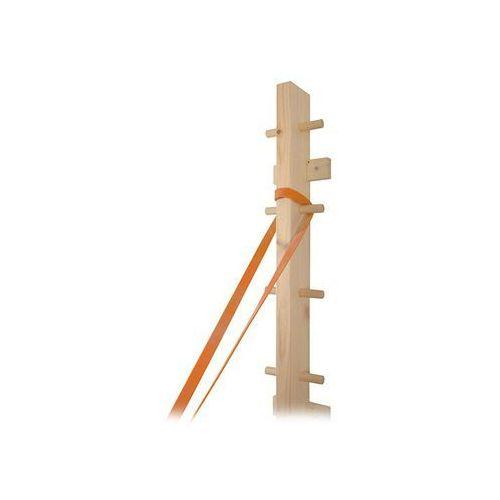 Drabinka drewniana (montaż do ściany) do ćwiczeń z taśmami i tubingiem MSD - 01-300001
