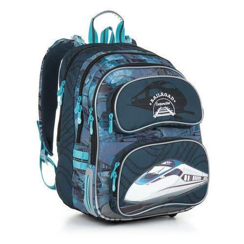 Topgal Plecak szkolny chi 865 d - blue