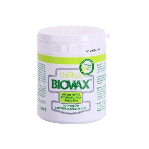 L'biotica Biovax Dull Hair maseczka regenerująca do przetłuszczających się włosów i skóry głowy (Paraben & SLS Free) 250 ml
