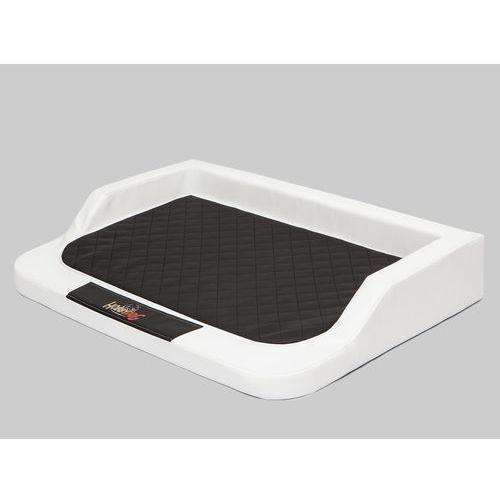Xxl legowisko medico lux - biały z czarnym materacem marki Hobbydog