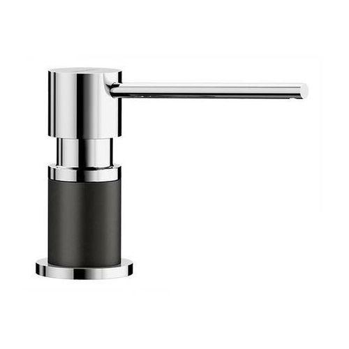 lato silgranit-look czarny/chrom dozownik detergentu marki Blanco