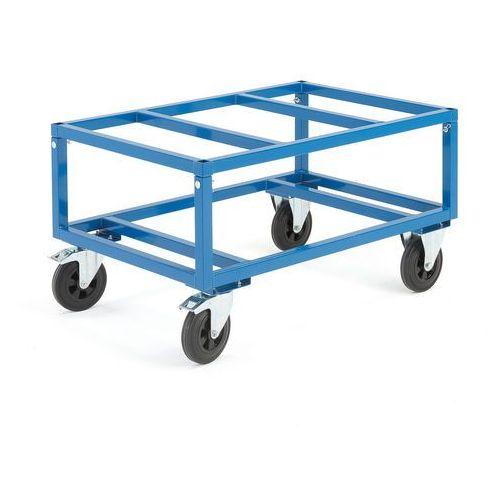Wózek na palety/stół paletowy z hamulcem marki Aj