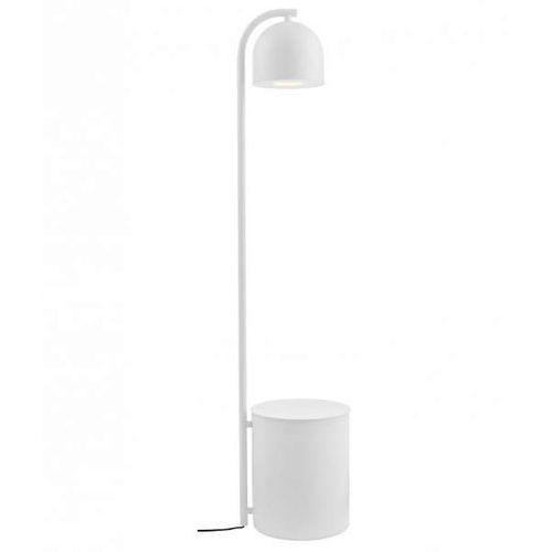 LAMPA podłogowa BOTANICA 40848101 Kaspa dekoracyjna OPRAWA stojąca tuba z doniczką biała, 40848101