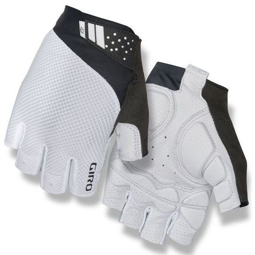 Giro monaco ii gel rękawiczka rowerowa mężczyźni biały m 2018 rękawiczki szosowe