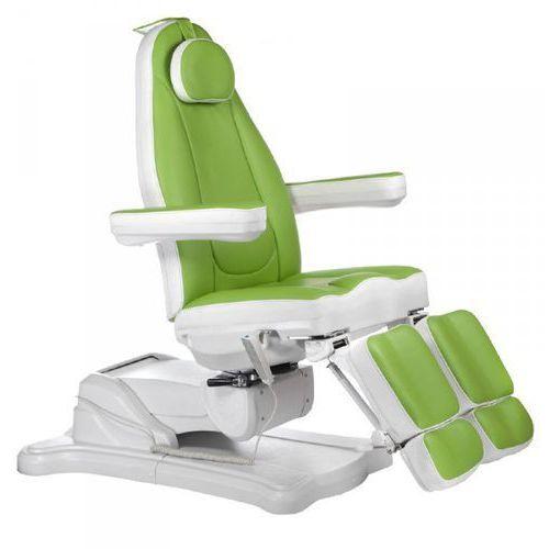 Elektryczny fotel kosmetyczny mazaro br-6672c zielony marki Vanity_b