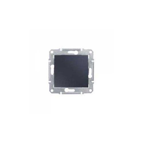 Łącznik dwubiegunowy Schneider Sedna SDN0200270 IP44 hermetyczny pojedynczy grafit (8690495055221)