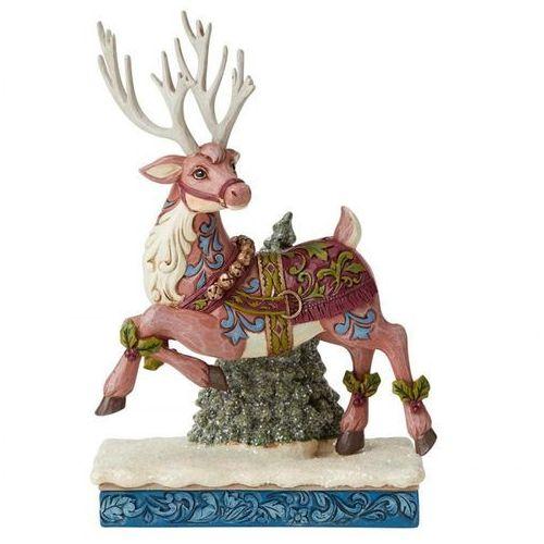 """Renifer """"świąteczna przygoda"""" - Wiktoriańska kolekcja - Victorian Collection 6004181 Jim Shore figurka ozdoba świąteczna"""