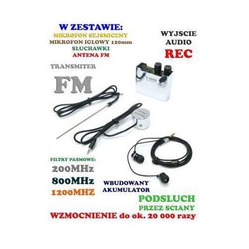 Profesjonalny podsłuch sejsmiczny przez scianę, sufit, drzwi, okno itd. marki Spy electronics ltd.