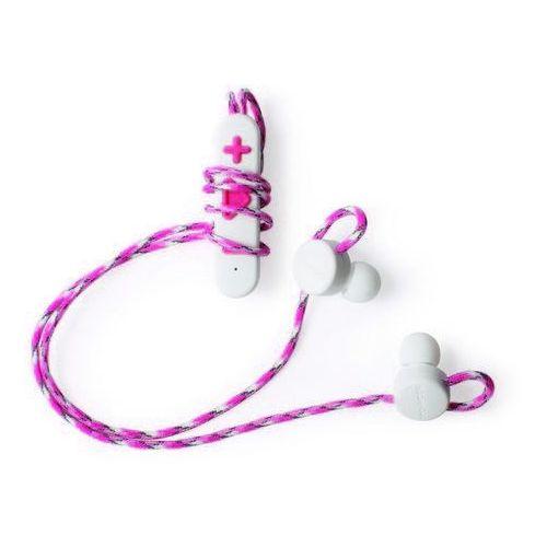 Boompods Retrobuds (biało-różowy) - produkt w magazynie - szybka wysyłka!