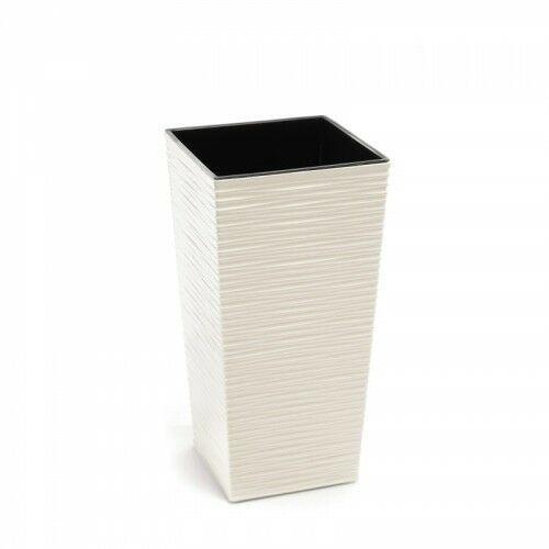 Doniczka finezja dłuto 30 cm kremowa 45470, 105/99-4