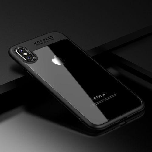 """Marka-24 Etui """"auto focus"""" dla iphone 8 plus - czarny - czarny \ iphone 8 plus"""