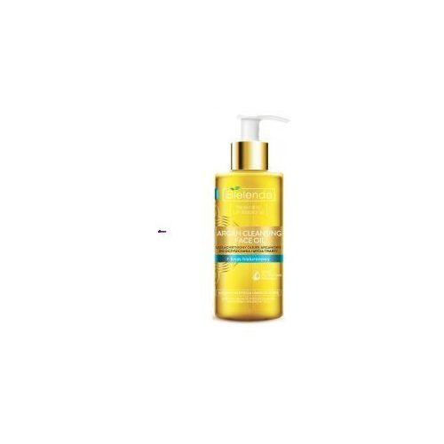 Bielenda Argan Cleansing Face Oil (W) olejek do mycia twarzy z kwasem hialuronowym 140ml