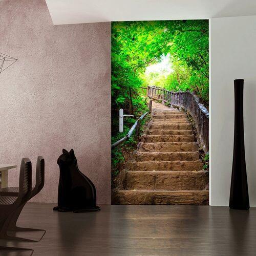 Fototapeta na drzwi - tapeta na drzwi - schody z natury