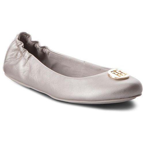 a386643a3e90c Baleriny - pearlized leather ballerina f... Producent Tommy Hilfiger ...