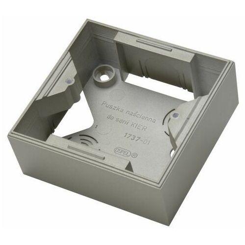 kier pnp-w/45 puszka instalacyjna do serii kier satyna light marki Ospel