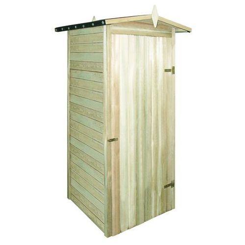Vidaxl szopa ogrodowa, impregnowane drewno sosnowe, 100x100x210 cm