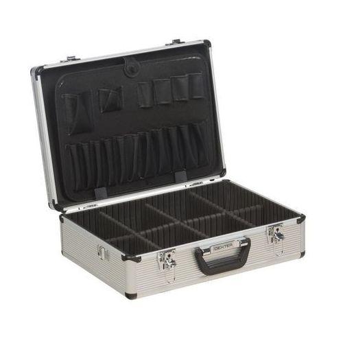 Walizka aluminiowa na narzędzia LD-FS001 45 x 33 x 15 cm DEXTER