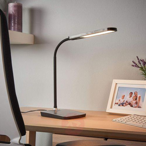Leoris - lampka biurkowa led z portem usb marki Lampenwelt.com