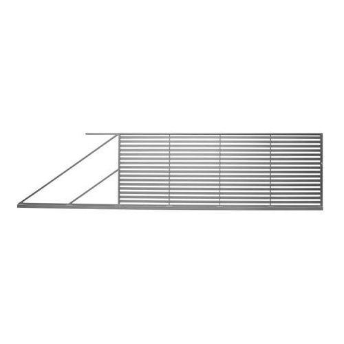 Brama przesuwna Polbram Steel Group Brava 400 x 150 cm lewa (5901891476972)