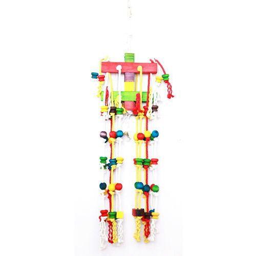 Happypet Kolorowa zabawka dla ptaków cascade  aż 100 cm