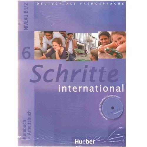 Schritte international 6 Kursbuch + Arbeitsbuch Zeszyt maturalny XXL, praca zbiorowa