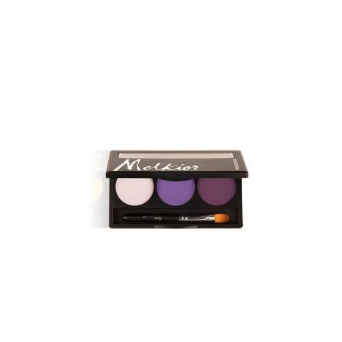 Melkior paleta matowych cieni do powiek, Royal Purples