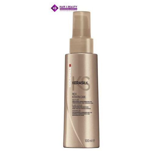 GOLDWELL Kerasilk KS Rich Keratin Care fluid z jedwabiem 100ml, towar z kategorii: Odżywianie włosów
