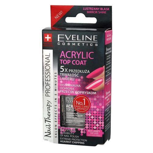 Eveline kolorowka Eveline nail therapy lakier - top coat acrylic 12ml -